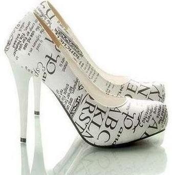Word High Heels