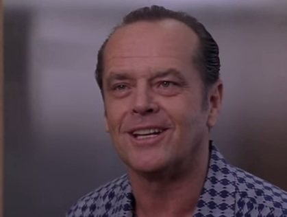 "Jack Nicholson in ""As Good as It Gets"""