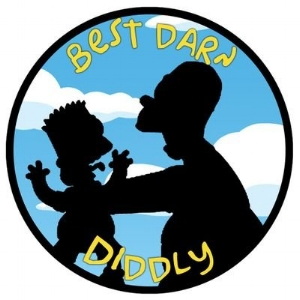 """Subscribe to """" Best Darn Diddly ,"""" our favorite Simpson's review show!"""