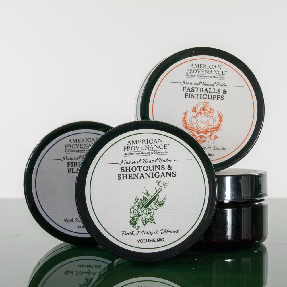 A dry beard harbors bacteria and flaky skin, and no one want to get close to that. Do yourself--and your special someone--a favor by using our Natural Beard Balm, the natural way to maintain a healthy and great looking beard. Great for any beard length--a few days of scruff to long and luxurious. -