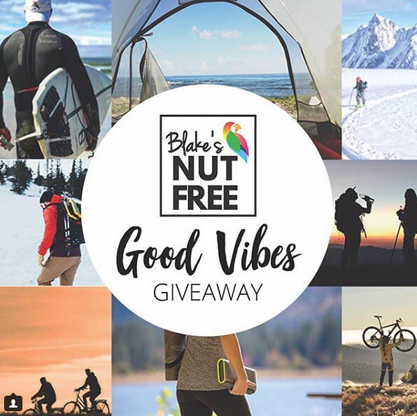 Ready for a Good Vibes Giveaway? You could win essentials for the@perfect staycation or for your next big adventure valued close to $1000, including products from us, @blakesnutfree and their favorite outdoor and wellness brands. Enter your email for a chance to win at http://woobox.com/vehfhj?source=AP