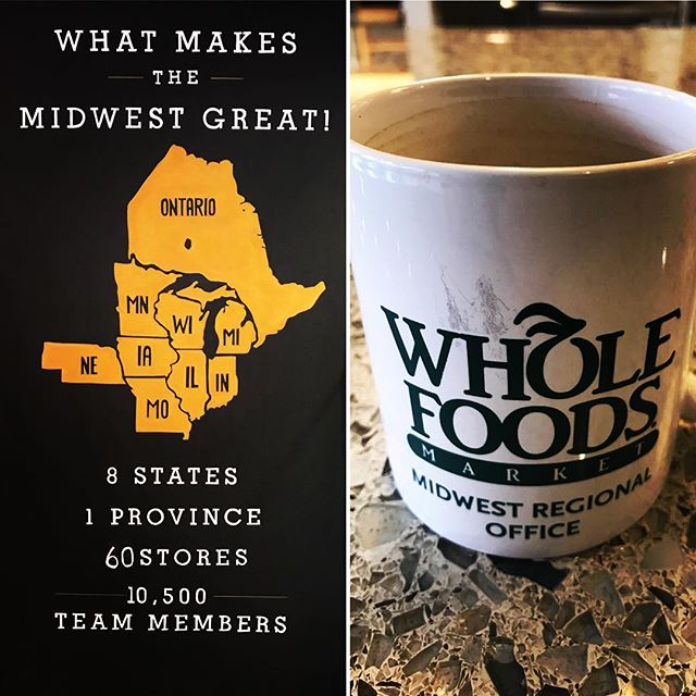 Great meeting with the wonderful folks @wholefoods Midwest Region this morning! Big things ahead in 2018 and beyond! #wholefoods #amazon #midwest #naturaldeodorant #naturalproducts #smallbusiness #entrepreneur #cleanbeauty #transparency #integrity #werejustgettingstarted