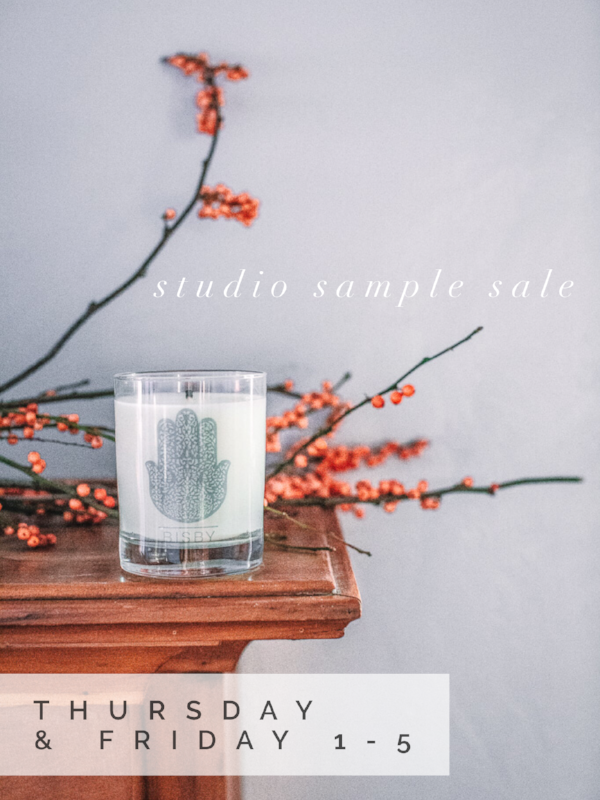 2018 is going to be BIG for Shop Bisby . We have distribution with all Oklahoma Whole Foods and Austin, and I am happy to report everyone seems to be loving our candles!We have our eyes set on nationwide distribution, and we're looking to add at least 50 more wholesale accounts this year! Please send us your favorite stores (outside of OKC) which need Bisby Candles!  With all the new comes shaking off the old! Here is where YOU come in! We are having a giant sample sale tomorrow, Thursday the 1st of February ( I can't believe it's here either) - Friday the 2nd. Fom 1-5 in our warehouse at Always Greener 4401 N Santa Fe Ave, OKC, ok 73118. If you get lost don't call me, I can't help! Just kidding, be sure to take 36th to Santa Fe since there is a highway maintenance nightmare situation still going on and the road is blocked.   We have holiday candles, samples we made, discontinued fragrances, a few 'oops did I pour that' situations, a couple mystery candles, and more! We also have Moroccan rugs, bags, and poufs leftover from yesteryears and they ALL need a home. We are looking to clear the room so bring a bag and a friend.    We can't wait to see you!   As always, we would love to hear from you! E-mail me directly at Nicole@shopbisby.com for comments, ideas, or just to say hi. We only   exist  because   you  believe in us.   Happy New Year and Cheers to a good sale! Nicole & Team Shop Bisby   * Please note depending on his mood + nap situation, baby dictator (formerly known as my son Malik) should be making an appearance!