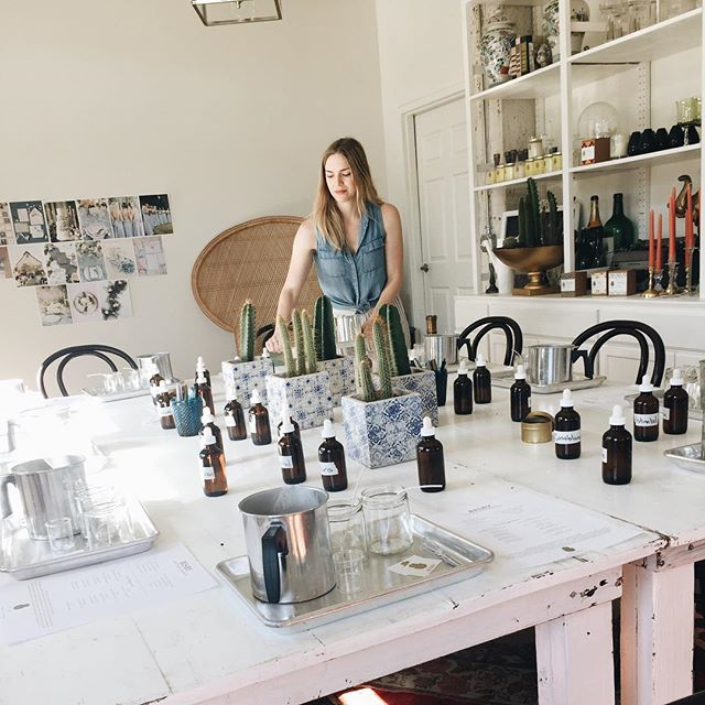 🦋last chance to join us for our candle making + yoga workshop this weekend ! We can't wait to see you for this amazing community event . Link 🐿in bio #ok #workshop