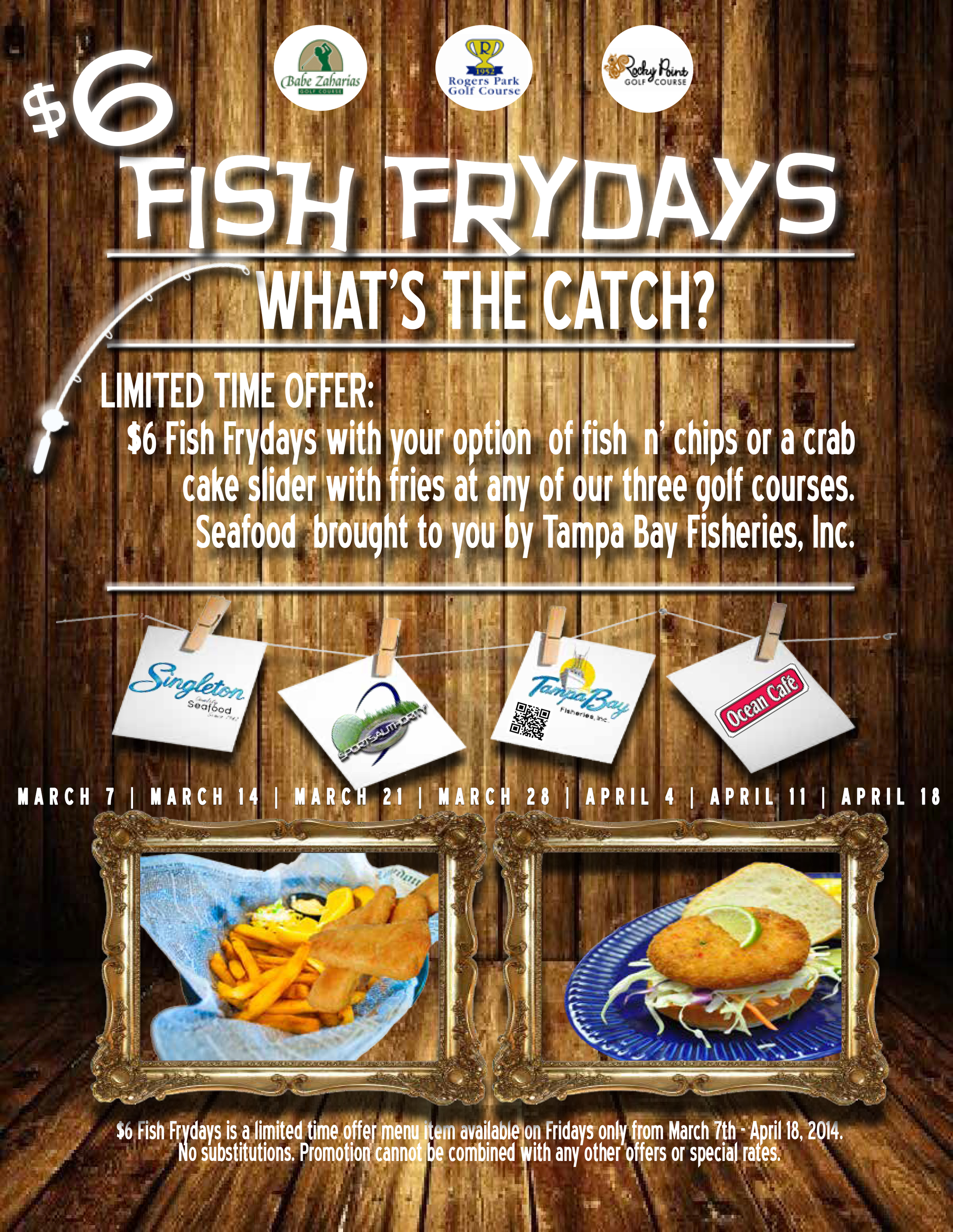6 fish frydays flyerrrr W DATES