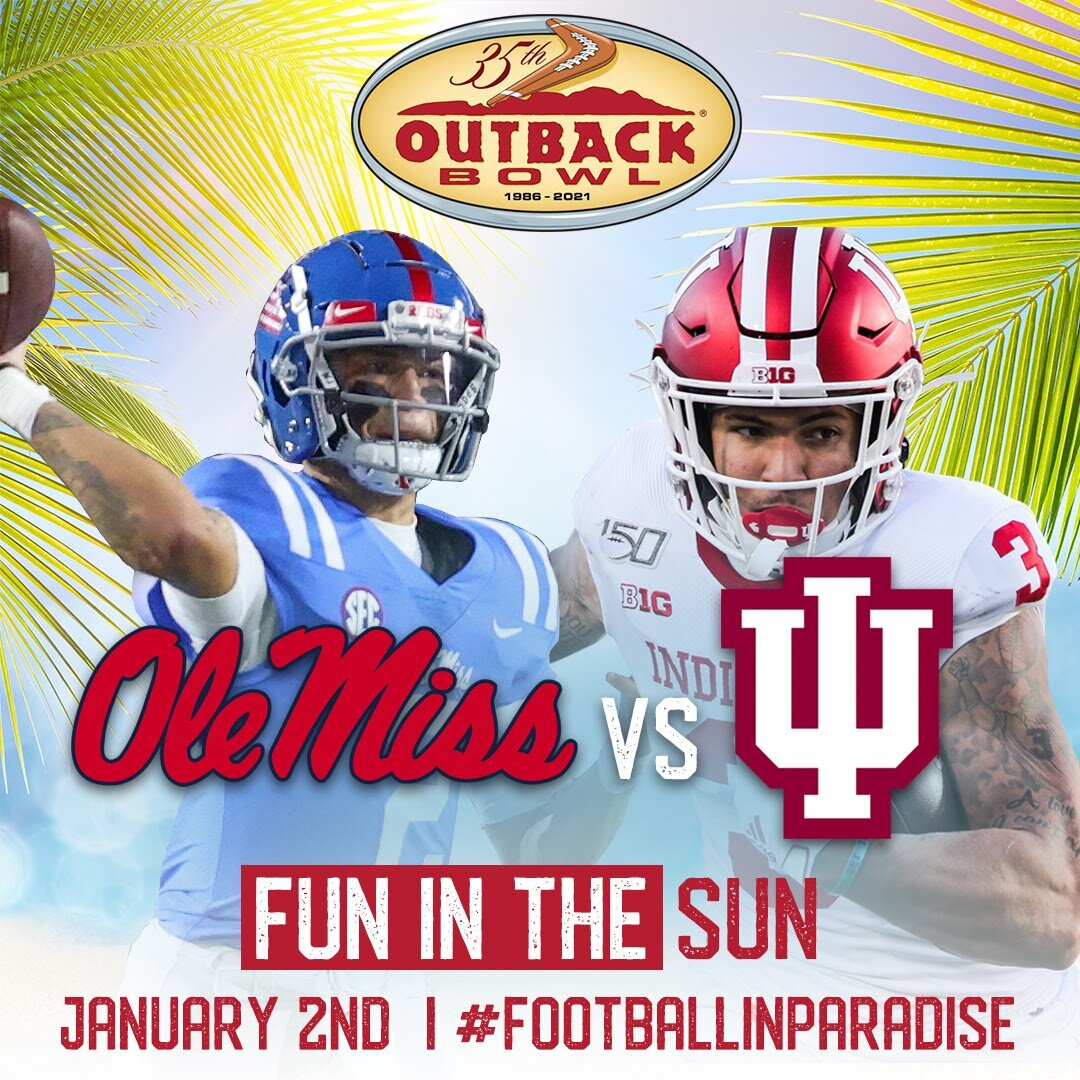 Image result for Outback Bowl 2019