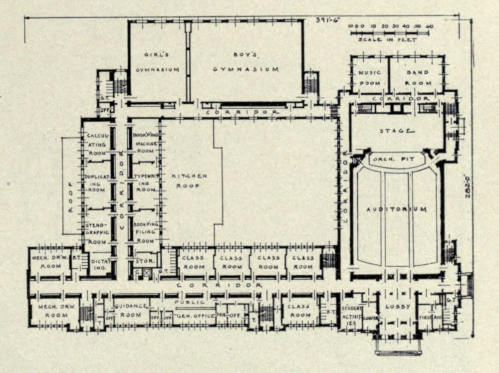 As built plan view