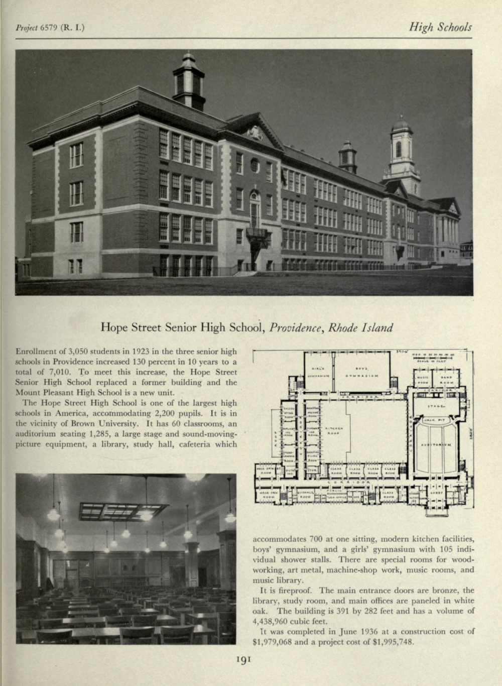 """From the book """"Public Buildings, Architecture under the Public Works Administration 1933-1939"""