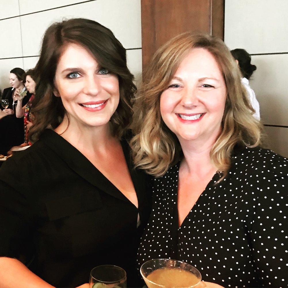 With Vivian Howard at the 2018 James Beard Foundation Media Awards.