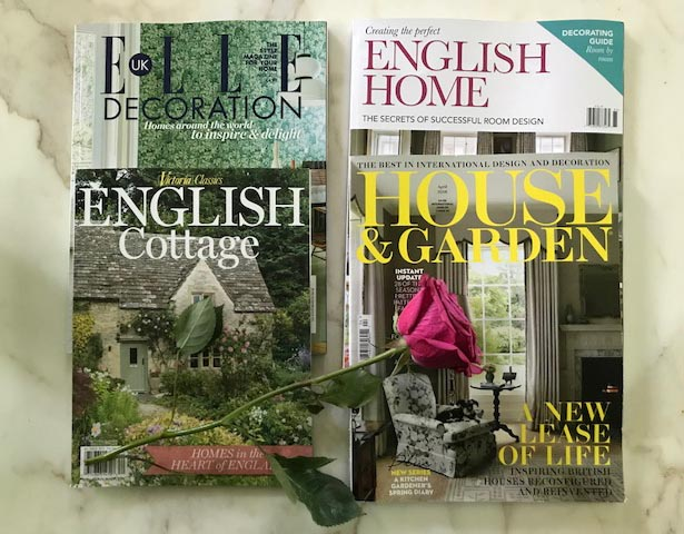 English Cottage and Lifestyle Magazines