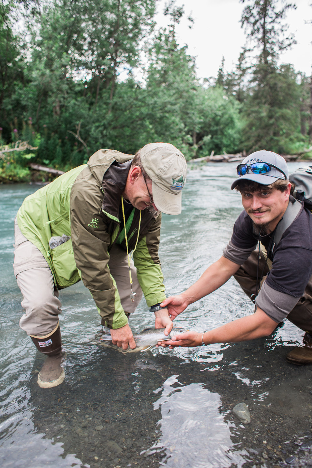 Ptarmigan Creek  - Catching Dolly Varden