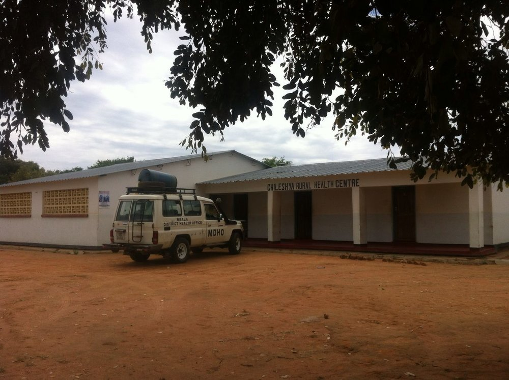 This is the clinic building in her village, yet it lacks the staff to make it a viable health center.