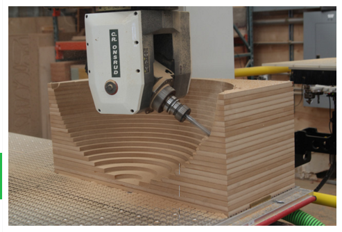 Lucid Machine Arts CNC in action