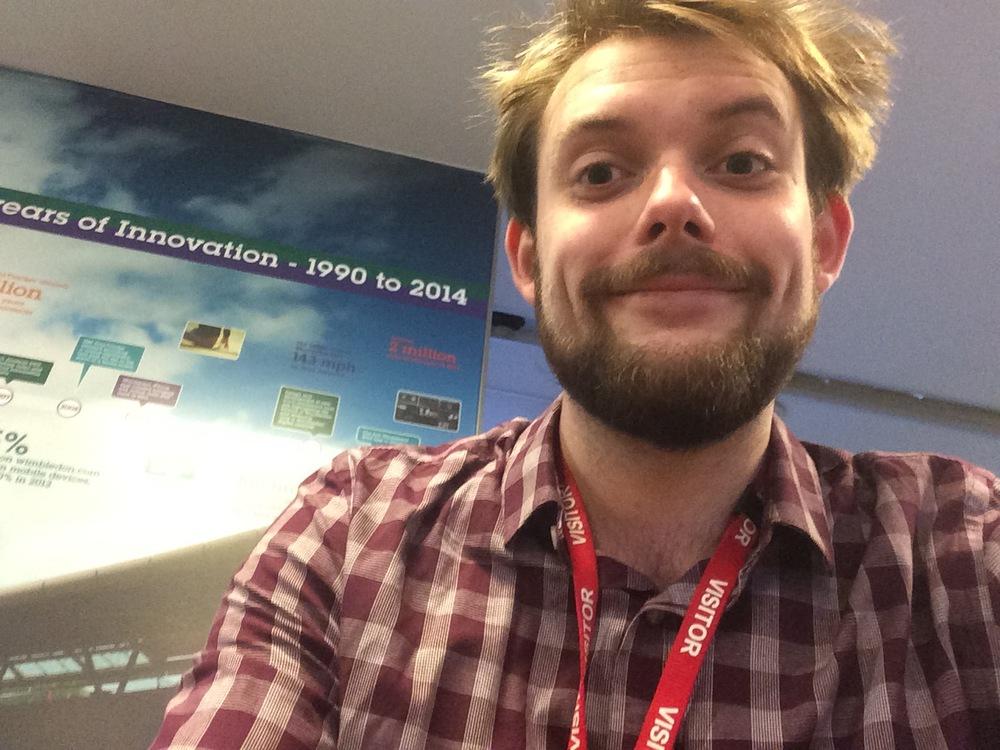 Me at IBM!