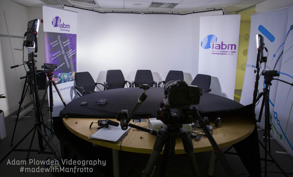 iabm adam plowden videography portable studio setup