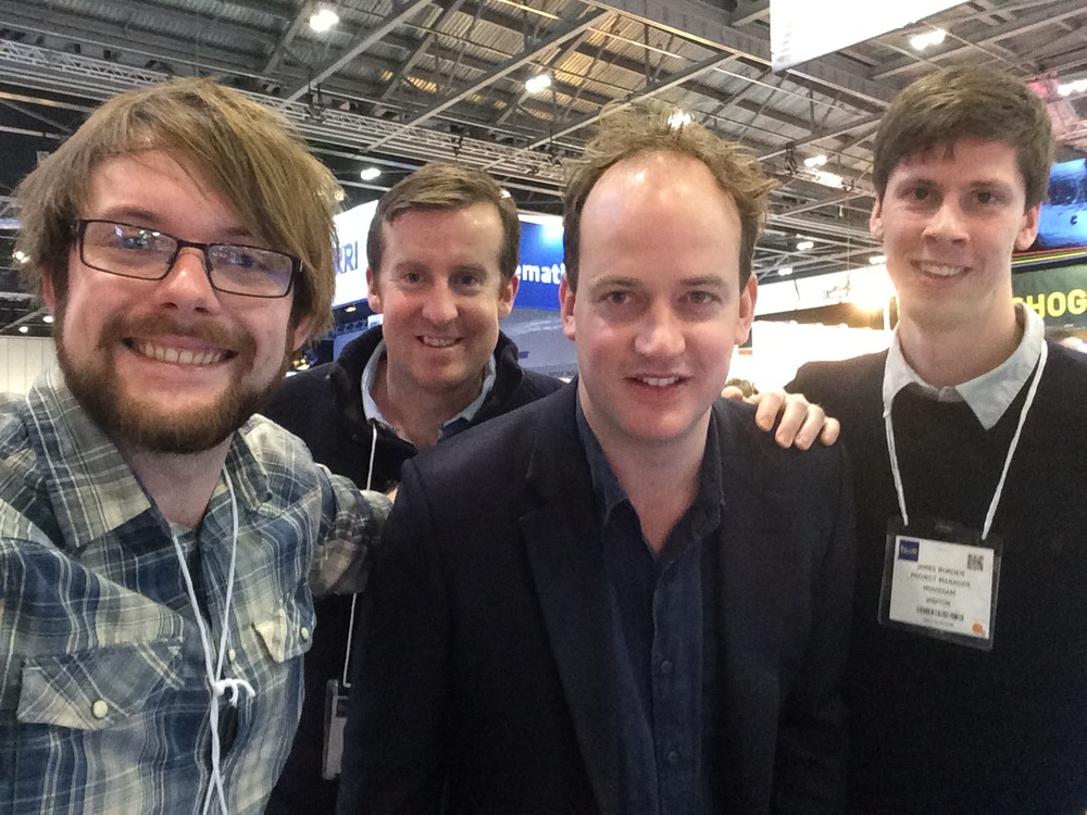 Adam meets the Movodiam team at BVE 2015