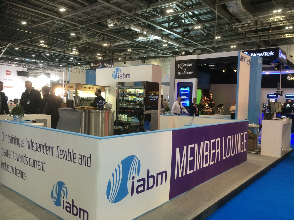 The IABM Pavilion and Member Lounge