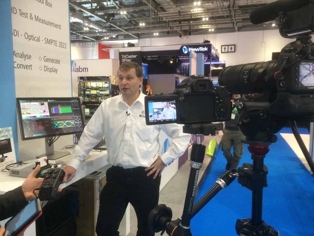 David from OmniTek talks to IABM TV about their BVE show experience and benefits of being a member.