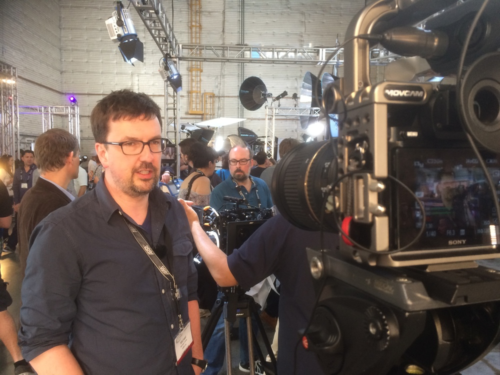 Michael from ARRI at Cinegear