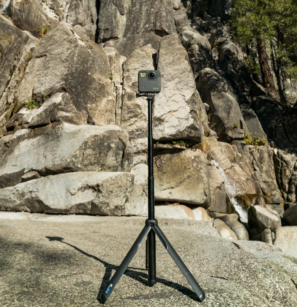 GoPro fusion Yosemite