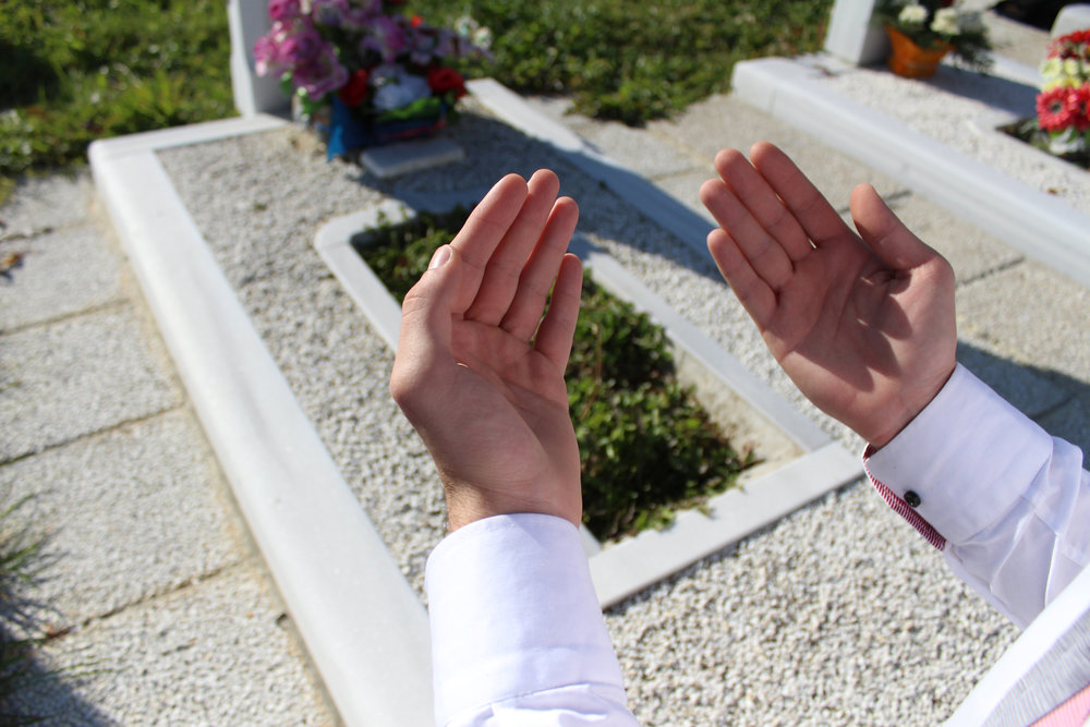 Cemetery maintenance and assistance with funeral arrangements -