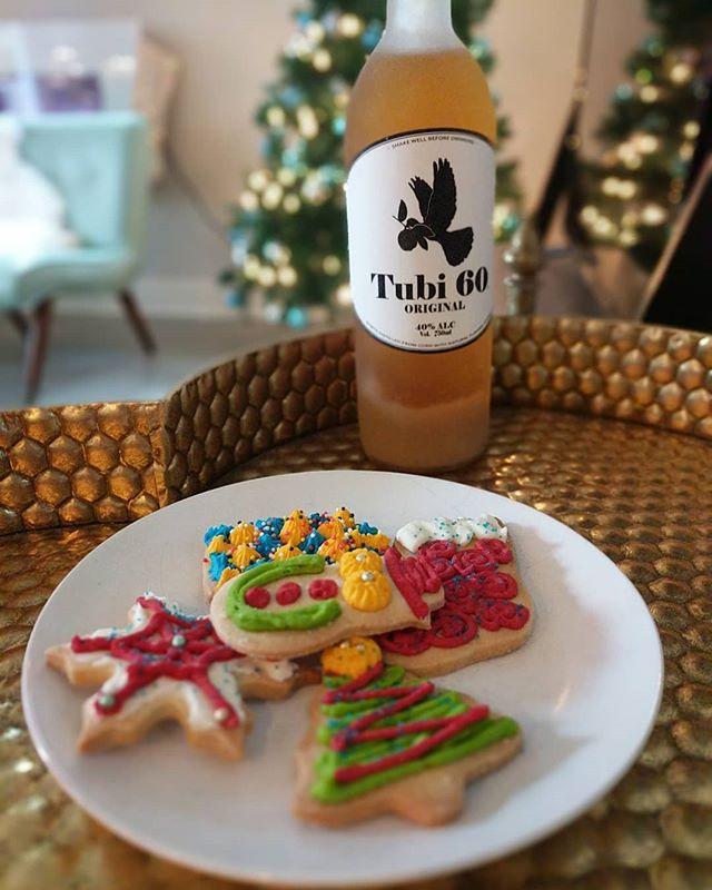 Milk is overrated. Give Santa the good stuff tonight 🍪 🎅 🎄 #Tubi60
