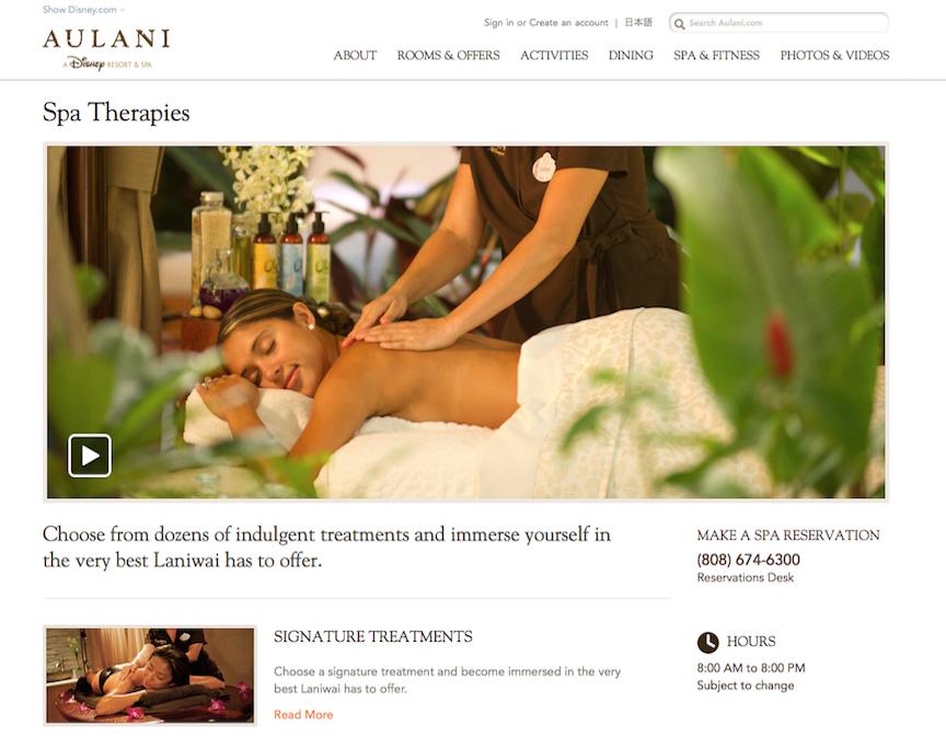 Web writing for Aulani Resort.jpg