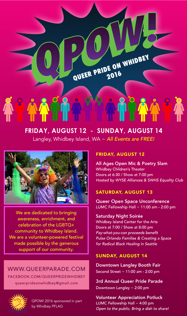 QPOW! 2016 - Event Poster