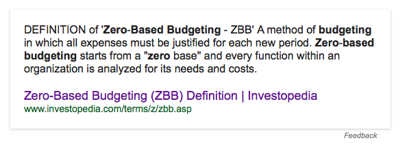 zero base budgeting methodology Zero-base budgeting to study zero-based budgeting underlying goals while sidestepping the weaknesses of the method a brief history of zbb zero-base.