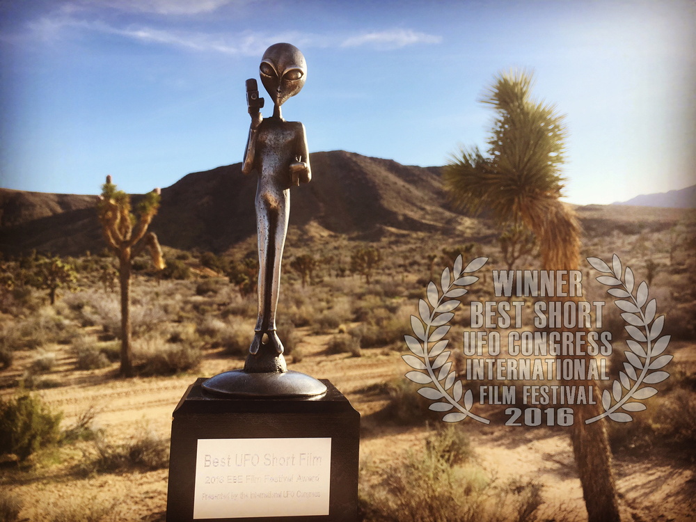 Corbell won BEST SHORT FILM at the 2016 International UFO Congress, EBE Film Festival.