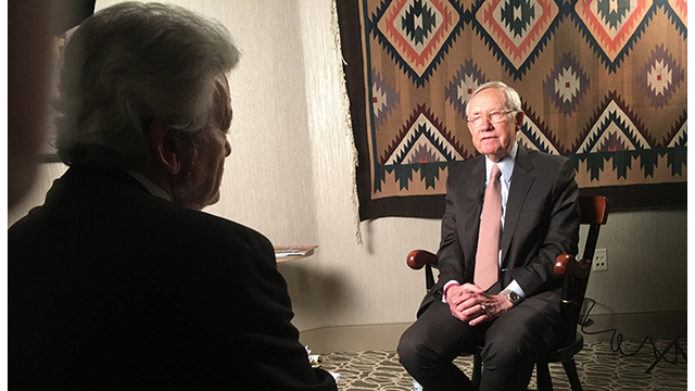 George Knapp with an exclusive interview with Senator Harry Reid.