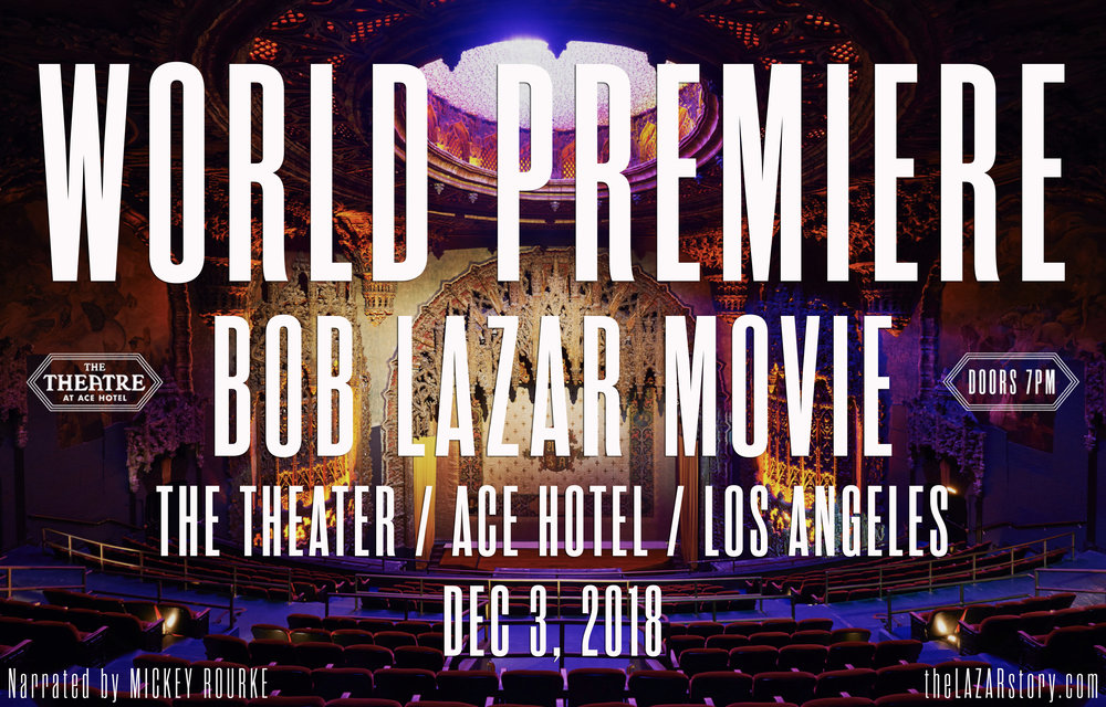 The World Premiere was a SOLD OUT show with over 1,600 people in attendance / The Theater @ ACE Hotel in Downtown Los Angeles