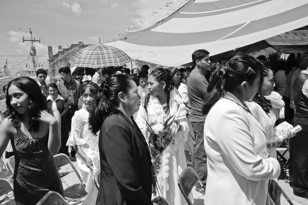 Communion Day, Puebla Mexico