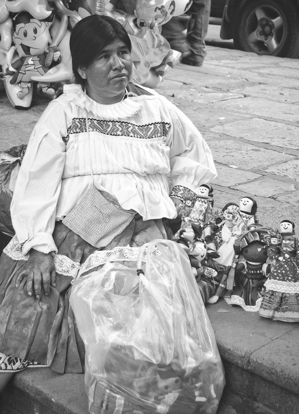 Vendedora, Mexico