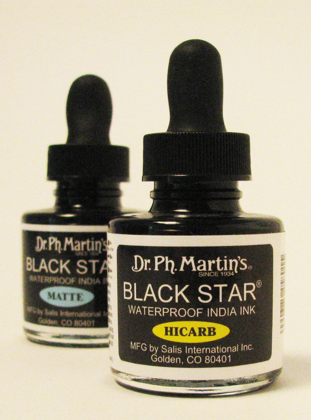 - DR. PH. MARTIN'S BLACK STAR INDIA INK -