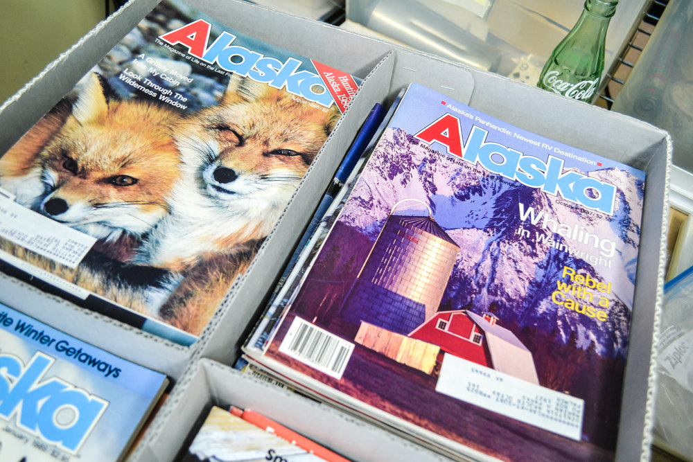 palmer museum's alaska magazine collection.