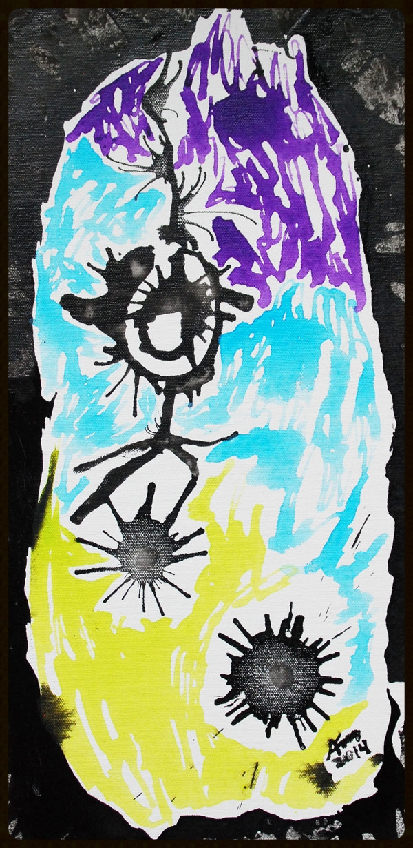 "#126 I Love the Renegade 10x20"" *SOLD*"