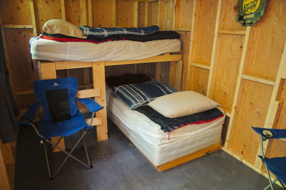 Interior - bunk beds