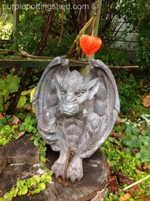 Gargoyle with Chinese Lantern