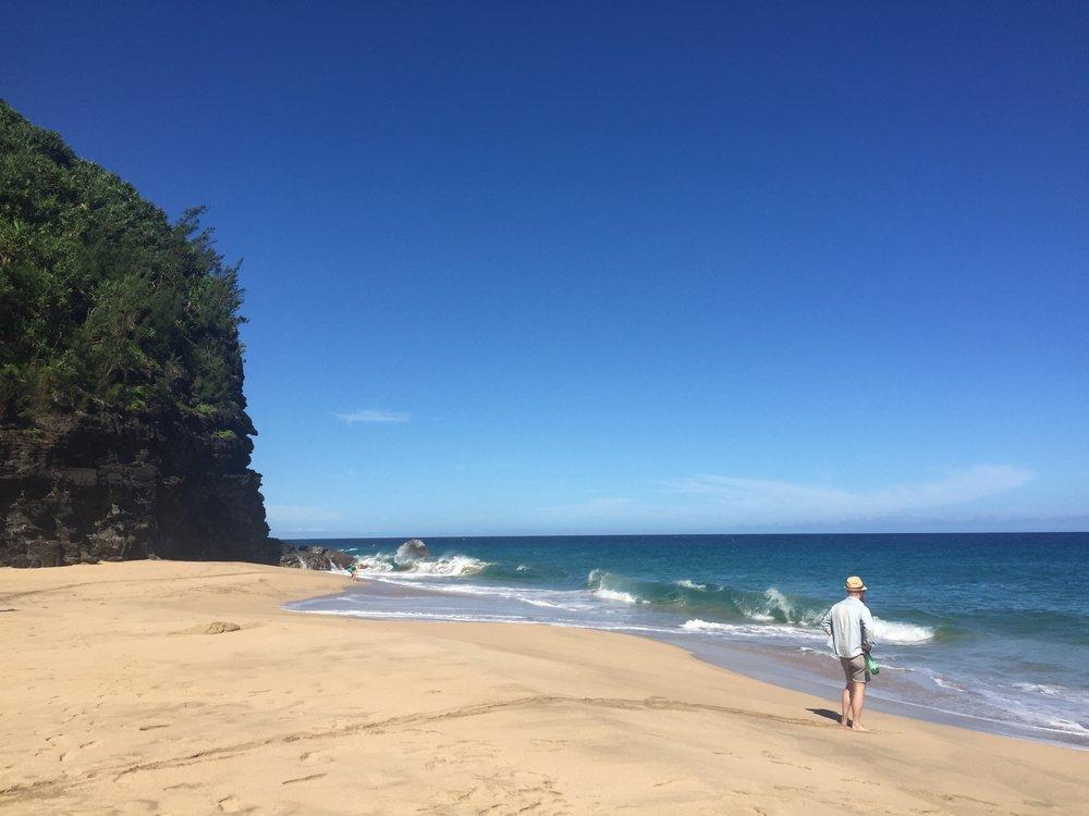 Hanakapi'ai Beach.