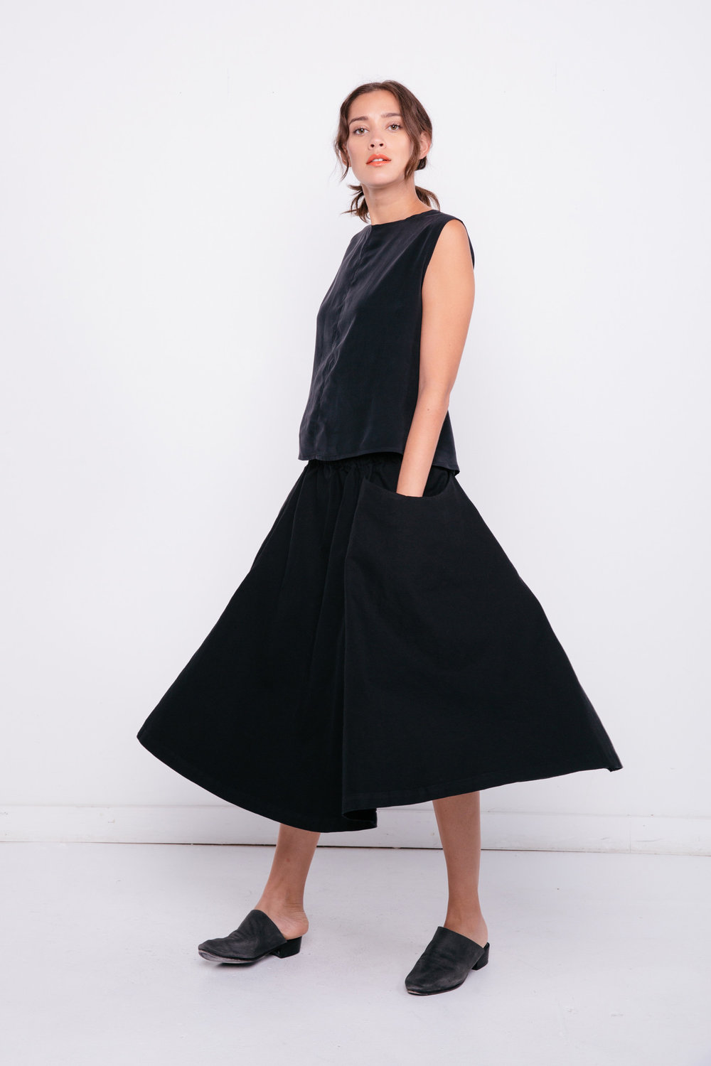 Clyde Billow Skirt
