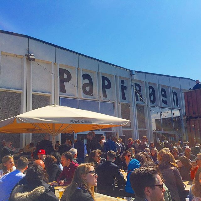 Papirøen, aka paper island, is the coolest collection of street food in an old warehouse! There were so many delicious food options that it was hard to pick one thing to eat. We ended up getting a duck and cheese croque madame with duck fat French fries and it was so good that I gobbled it all up before I could even get a picture!