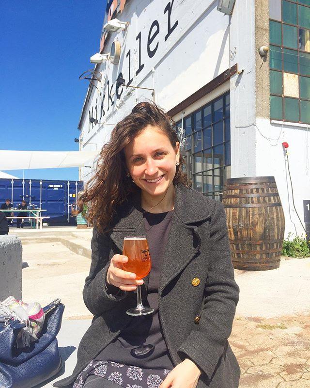 Enjoying sunshine and beers at Mikkeller Baghaven 🍻☀️