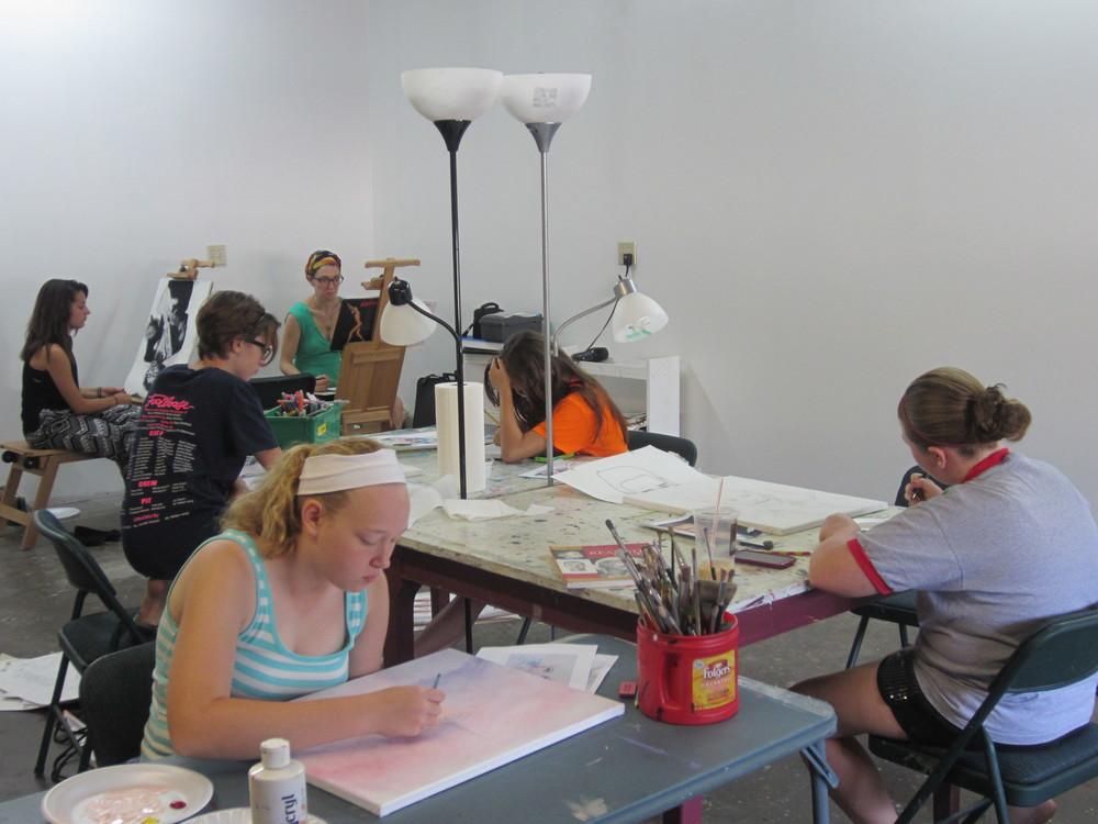 Summer Art Academy at LAC