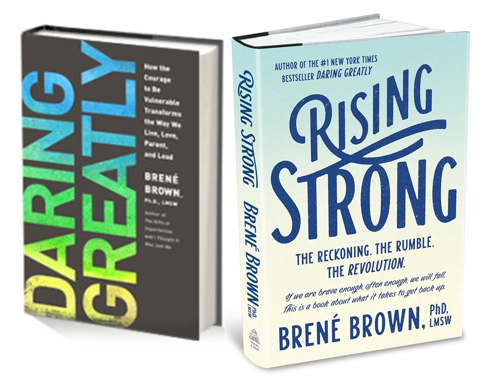 Brene' Brown's e-course book club joining together to inspire, express, share & support