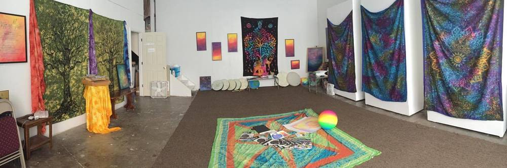 Serenity Studios @ LAC - NEW EVENTS 2017:  Art-as-Therapy Meditations Reiki Classes Yoga & Art