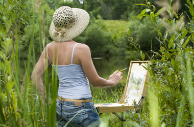 Creating ART in Nature w/Sandra... 2 retreats coming this Fall $25/pp for non-member -