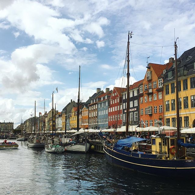 Clean, cozy and familiar, with subtle but intentional flair everywhere you look. Copenhagen was a treat. #beautiful #copenhagen #waterways #denmark #design