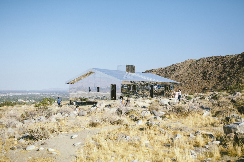 Doug Aitken's MIRAGE - such a cool installation.