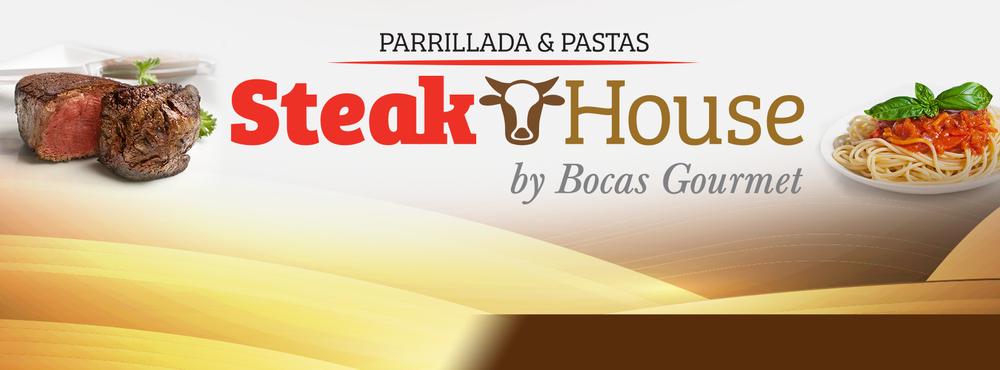 Steak House Alajuela. Dirección:150 metros E del CTP del INVU Las Cañas Tel:  2443 1392